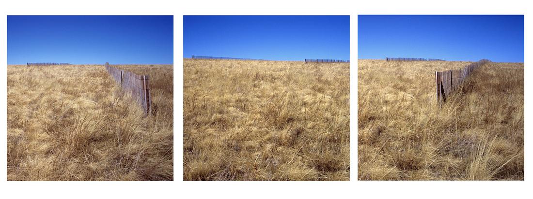 Snow Fence Triptych